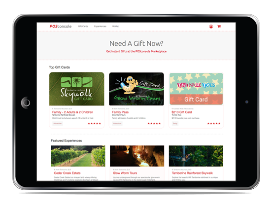 cloud-based gift cards