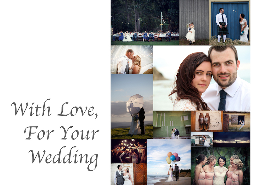 Wedding Gift Experiences Australia : Wedding Photo Gift Registry - Hannah Photography